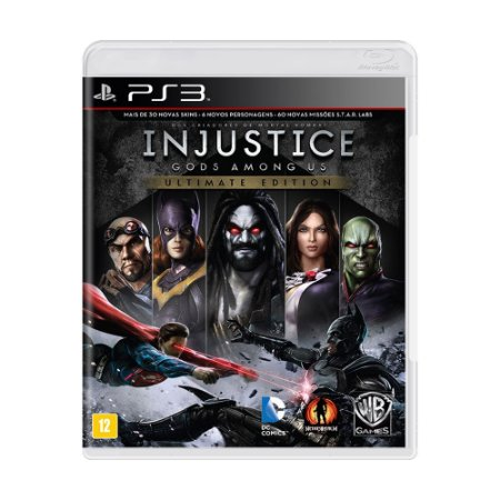 Jogo Injustice: Gods Among Us (Ultimate Edition) - PS3
