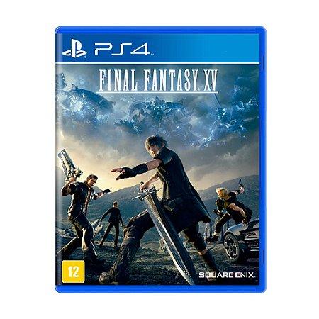 Jogo Final Fantasy XV - Final Fantasy 15 (FFXV) - PS4