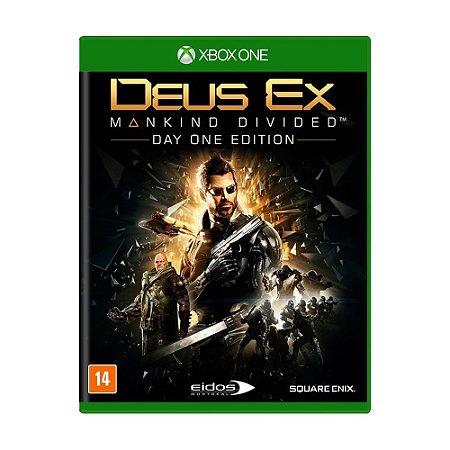 Jogo Deus Ex: Mankind Divided - Xbox One