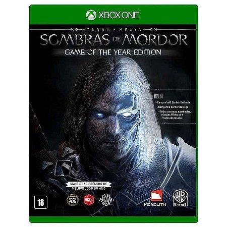 Jogo Terra Média: Sombras de Mordor (GOTY) - Xbox One