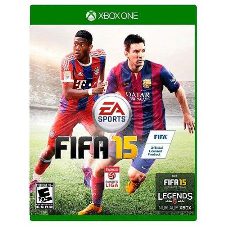 Jogo Fifa 2015 - FIFA 15 - Xbox One