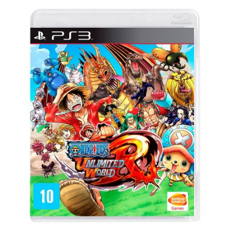 Jogo One Piece: Unlimited World Red (Edição Day One) - PS3