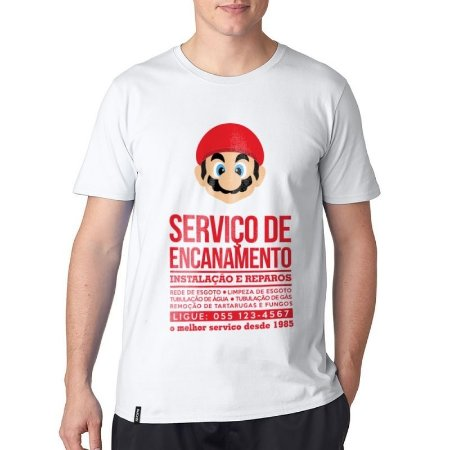 Camiseta ShopB Super Mario - Modelo 1