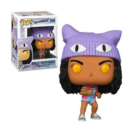 Boneco Molly Hernandez 359 Runaways - Funko Pop!