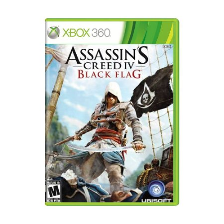 Jogo Assassin's Creed IV: Black Flag - Xbox 360
