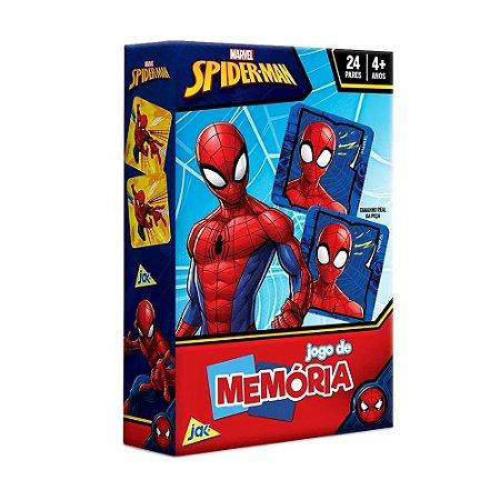 Jogo de Memória Jak Spider-Man