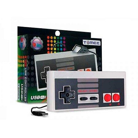 Controle Tomee NES Nintendo USB - PC e Mac
