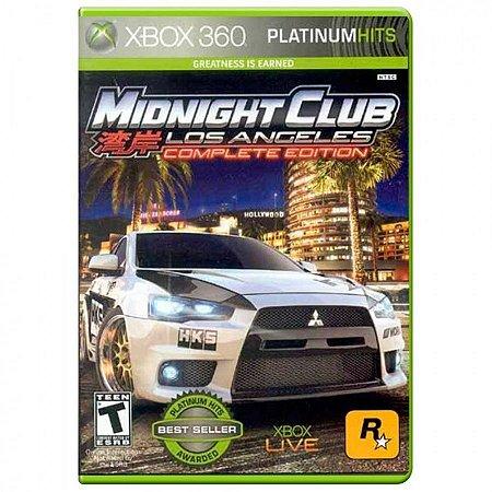 Jogo Midnight Club: Los Angeles (Complete Edition) - Xbox 360