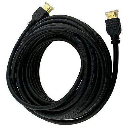 Cabo HDMI 20 metros 1.4v 1080p aceita imagem 3D