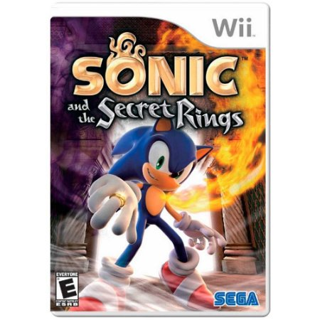 Jogo Sonic and the Secret Rings - Wii