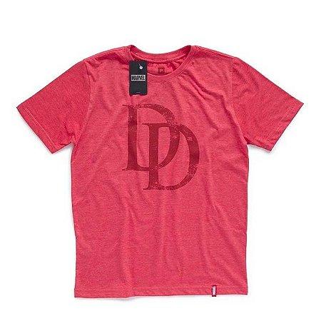 Camiseta Studio Geek Demolidor Logo Marvel - Modelo 2