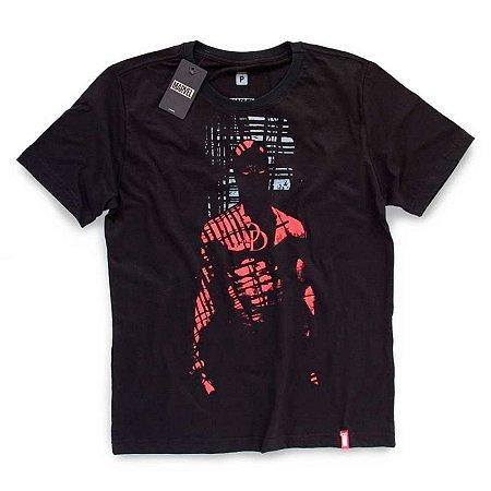 Camiseta Studio Geek Demolidor Sombra Marvel - Modelo 1