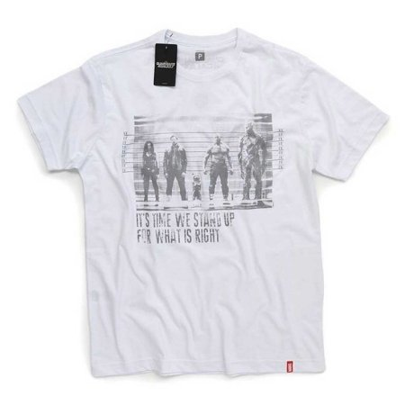 Camiseta Studio Geek Guardiões da Galáxia Prisioneiros Marvel - Modelo 3