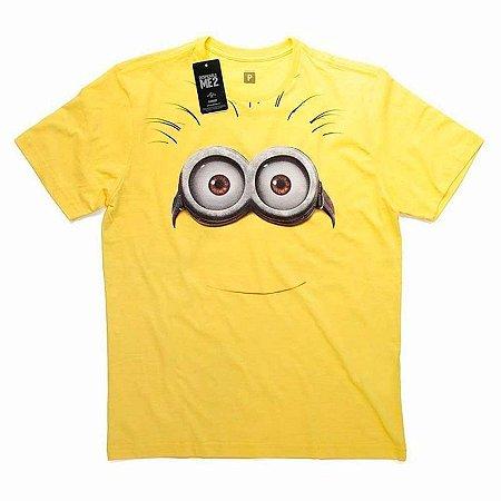 Camiseta Studio Geek Minion Face Meu Malvado Favorito - Modelo 1
