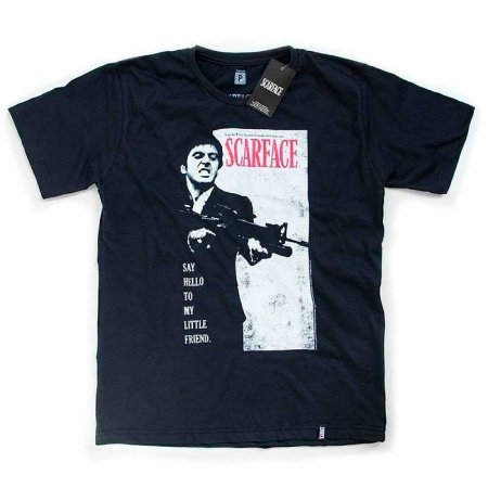 Camiseta Studio Geek Scarface - Modelo 1