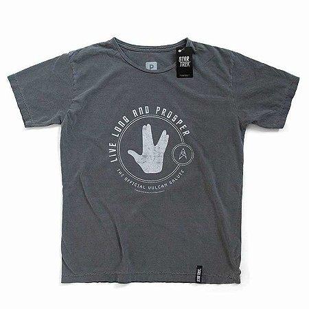 Camiseta Studio Geek Live Long and Prosper Star Trek - Modelo 1