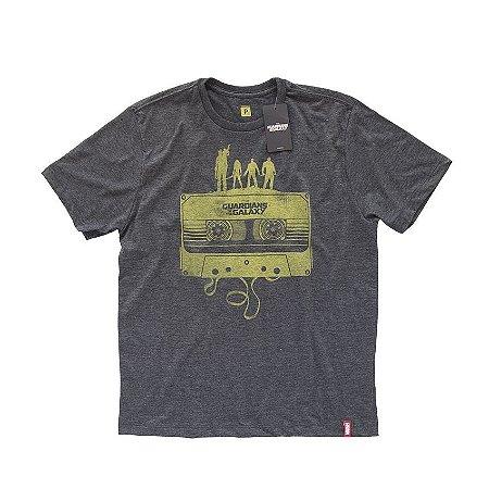 Camiseta Studio Geek Guardiões da Galáxia Fita Cassete Marvel - Modelo 4