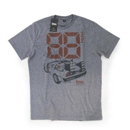 Camiseta Studio Geek Delorean Back to the Future - Modelo 2