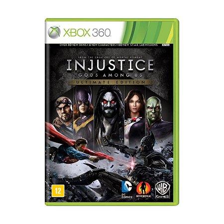Jogo Injustice: Gods Among Us (Ultimate Edition) - Xbox 360
