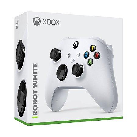 Controle sem fio Xbox Robot White - Series X, S, One - Branco