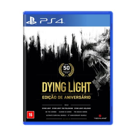 Jogo Dying Light (Edição de Aniversário) - PS4