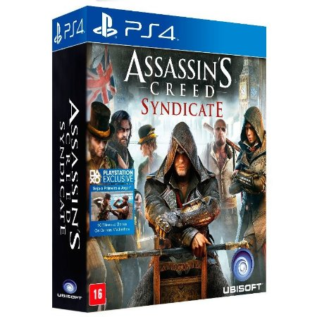 Jogo Assassin's Creed Syndicate (Edição Limitada) + Camiseta - PS4