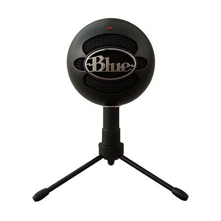 Microfone Condensador USB Blue Snowball iCE Black 988-000067 Preto - PC