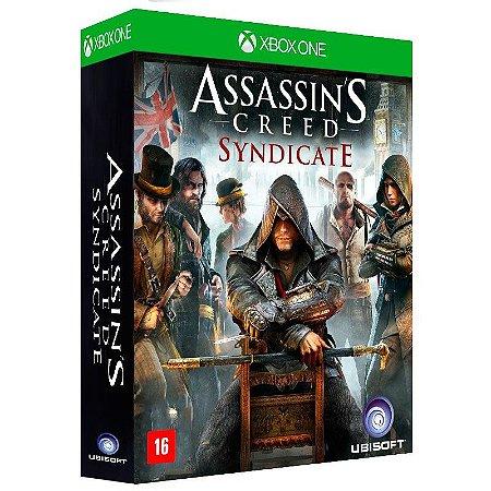 Jogo Assassin's Creed Syndicate (Edição Limitada) + Camiseta - Xbox One
