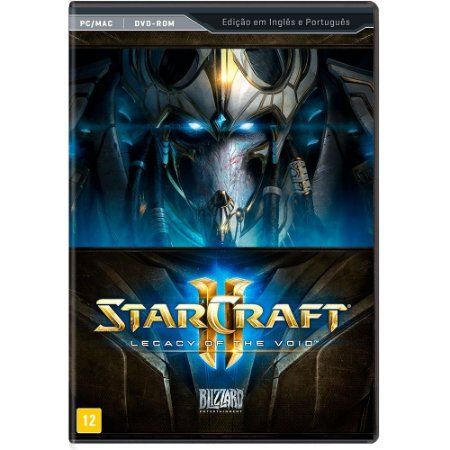 Jogo Star Craft ll: Legacy of the Void - PC