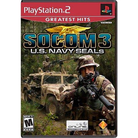 Jogo SOCOM 3: U.S Navy SEALs - PS2