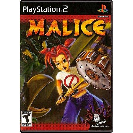 Jogo Malice - PS2