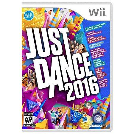 Jogo Just Dance 2016 - Wii