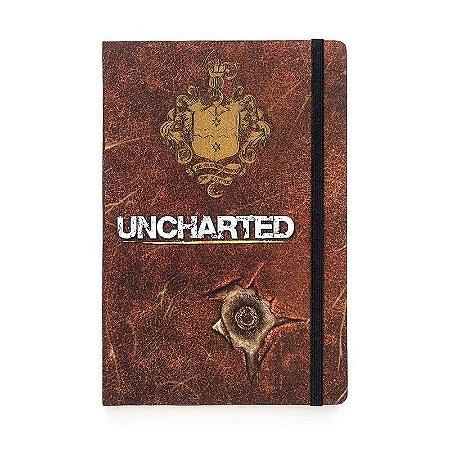 Caderno de Notas Uncharted - StudioGeek