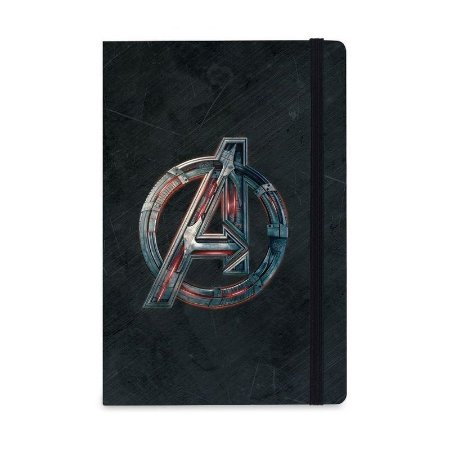 Caderno de Notas Vingadores Logo Marvel - Studiogeek