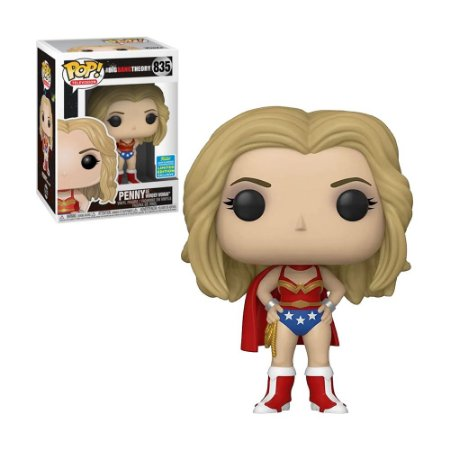 Boneco Penny as Wonder Woman 835 The Big Bang Theory (Limited Edition) - Funko Pop!