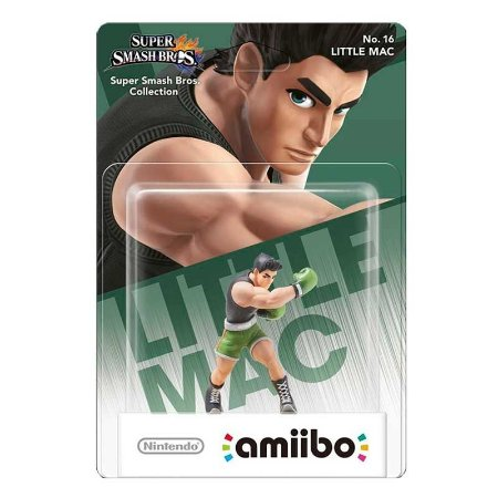 Nintendo Amiibo: Little Mac - Super Smash Bros. - Wii U e New Nintendo 3DS