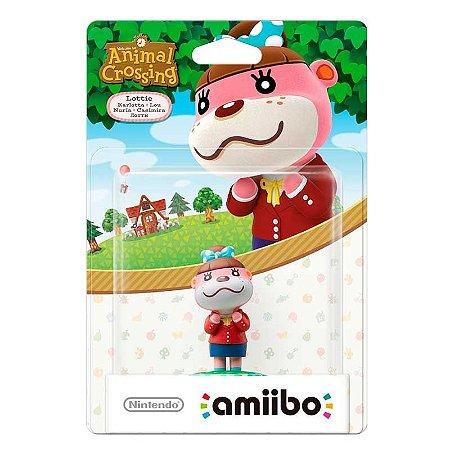 Nintendo Amiibo: Lottie - Animal Crossing - Wii U e New Nintendo 3DS
