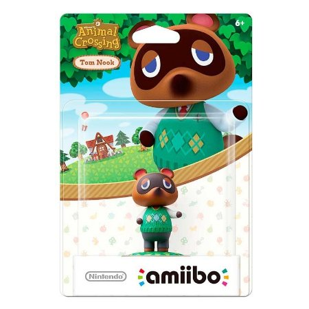 Nintendo Amiibo: Tom Nook - Animal Crossing - Wii U e New Nintendo 3DS