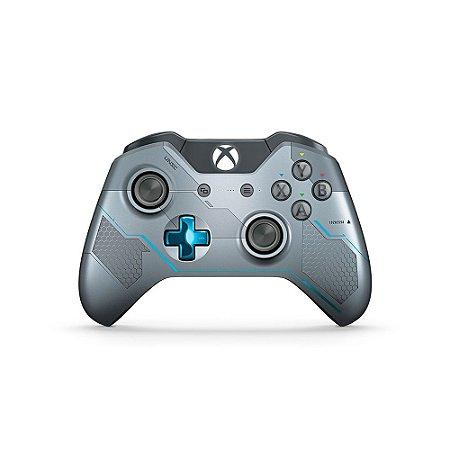 Controle Microsoft (Edição Halo 5: Guardians) sem fio - Xbox One