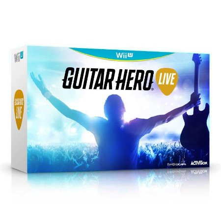 Kit Guitar Hero: Live (Guitar Bundle) - Wii U