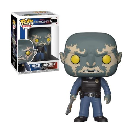 Boneco Nick Jakoby 560 Netflix Bright - Funko Pop!