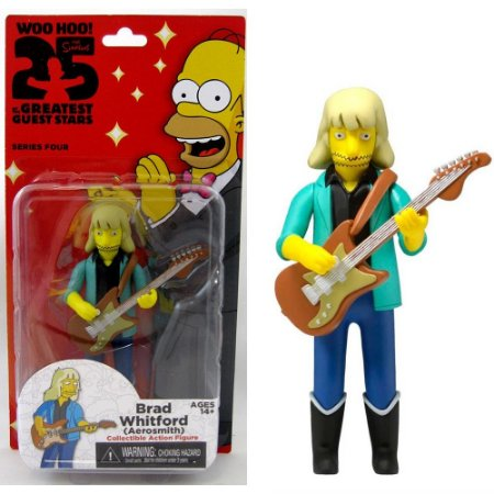 Action figure Brad Whitford (Aerosmith) The Simpsons 25th Anniversary Series 4 - Neca