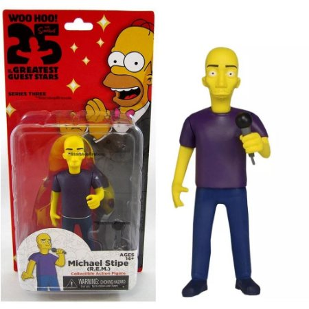 Action figure Michael Stipe (R.E.M) The Simpsons 25th Anniversary Series 3 - Neca