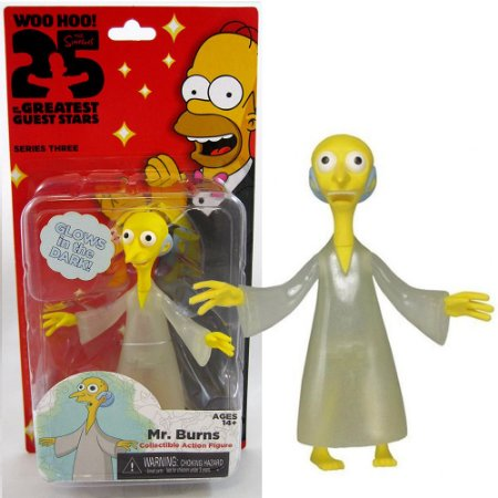 Action figure Mr. Burns The Simpsons 25th Anniversary Series 3 - Neca