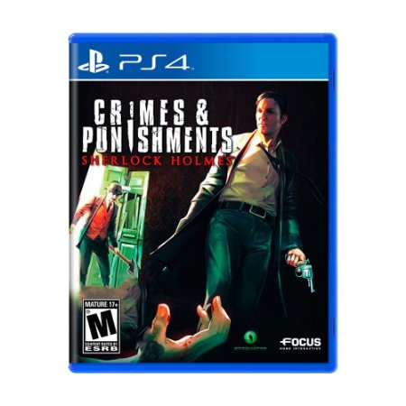 Jogo Sherlock Holmes: Crimes & Punishments - PS4