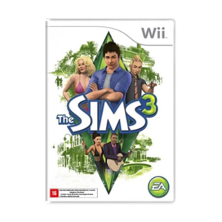 Jogo The Sims 3 - Wii