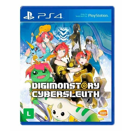 Jogo Digimon Story: Cyber Sleuth - PS4