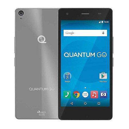 Celular Quantum Go Steel Grey 5'' 3G Micro Dual Chip - 16 Gb