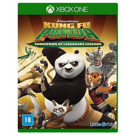 Jogo Kung Fu Panda: Showdown of Legendary Legend - Xbox One