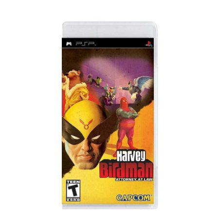 Jogo Harvey Birdman: Attorney at Law - PSP